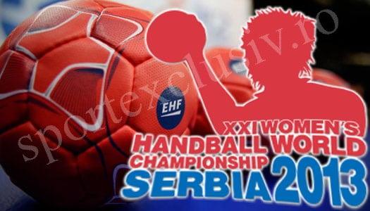 World Women's Handball Championship - Serbia 2013