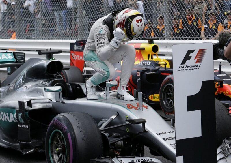 Hamilton a câștigat Marele Premiu al Principatului Monaco Hamilton a câștigat Marele Premiu al Principatului Monaco Hamilton