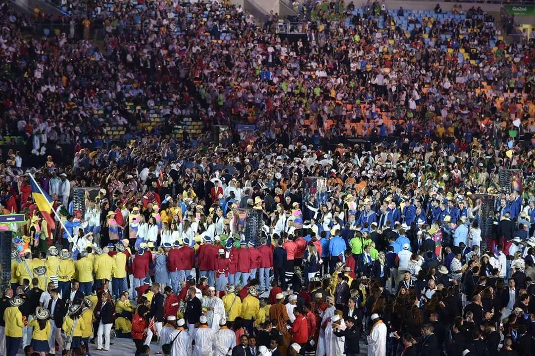 Foto: Ceremonia de deschidere a Jocurilor Olimpice de la RIO Foto: Ceremonia de deschidere a Jocurilor Olimpice de la RIO FB IMG 1470464296354