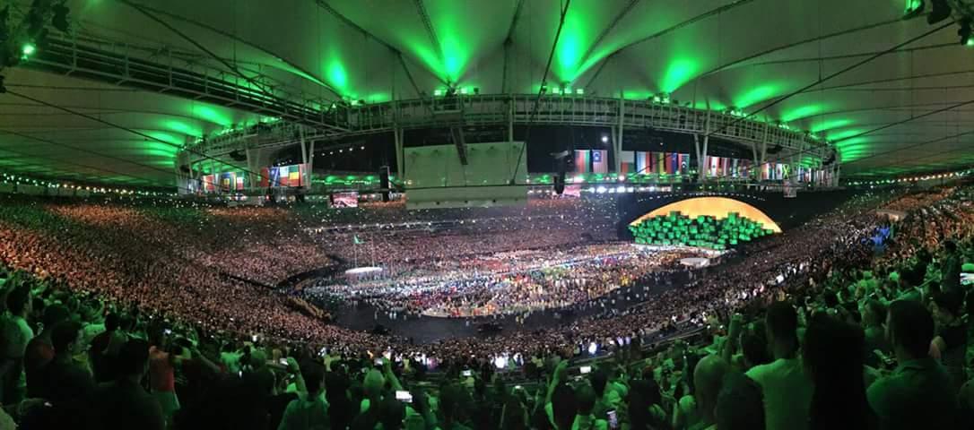 Foto: Ceremonia de deschidere a Jocurilor Olimpice de la RIO Foto: Ceremonia de deschidere a Jocurilor Olimpice de la RIO FB IMG 1470464307995