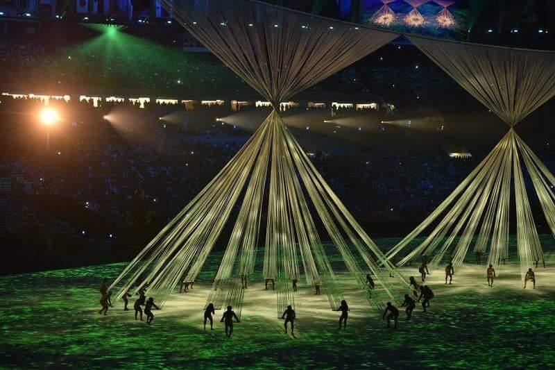 Foto: Ceremonia de deschidere a Jocurilor Olimpice de la RIO Foto: Ceremonia de deschidere a Jocurilor Olimpice de la RIO FB IMG 1470464335613