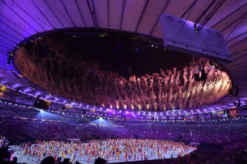 Foto: Ceremonia de deschidere a Jocurilor Olimpice de la RIO Foto: Ceremonia de deschidere a Jocurilor Olimpice de la RIO FB IMG 1470464355606