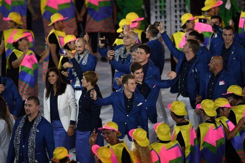 Foto: Ceremonia de deschidere a Jocurilor Olimpice de la RIO Foto: Ceremonia de deschidere a Jocurilor Olimpice de la RIO FB IMG 1470464385773