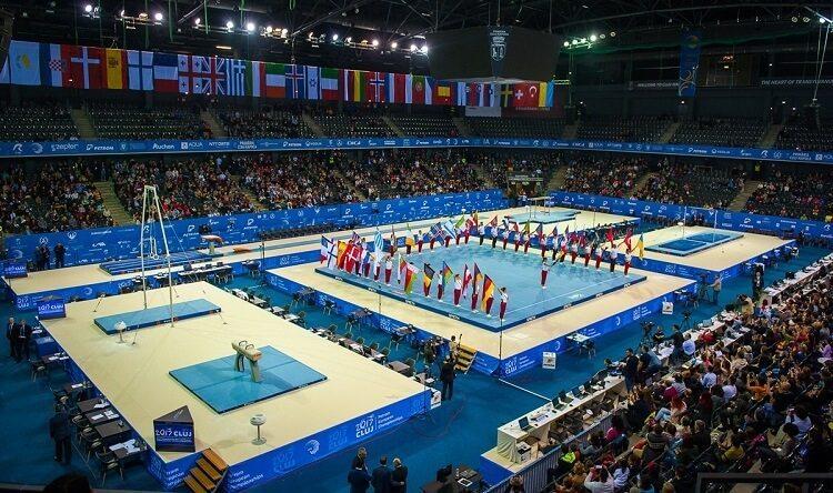 Ceremonia de deschidere a Campionatului European de Gimnastică 2017 Cluj Napoca Ceremonia de deschidere a Campionatului European de Gimnastică 2017 Cluj Napoca FRP 3797