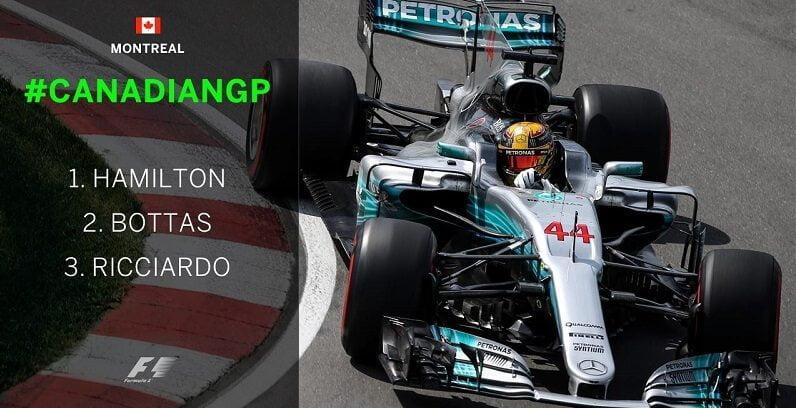Hamilton a câștigat Marele Premiu al Canadei! Hamilton a câștigat Marele Premiu al Canadei! formula 1