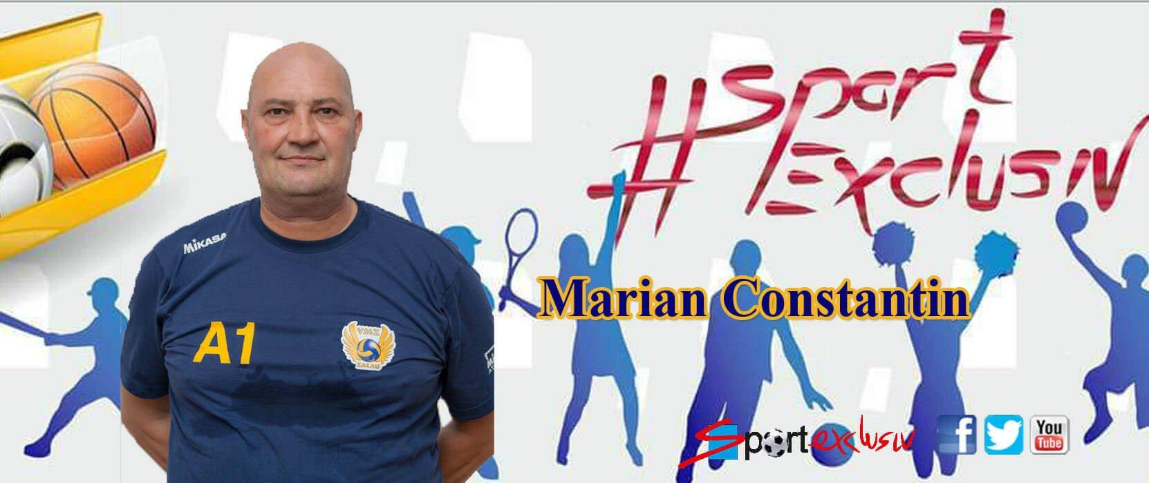 marian constantin: am obținut trei puncte importante Marian Constantin: Am obținut trei puncte importante marian constantin zalau